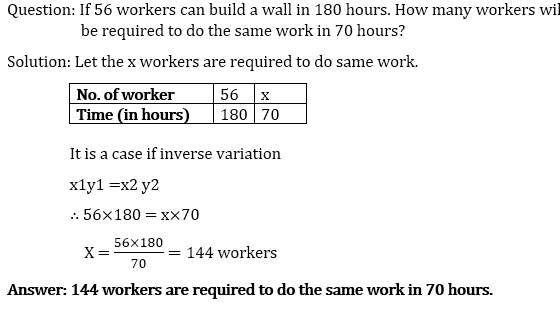 Icsepapers Question: If 56 workers can build a wall in 180